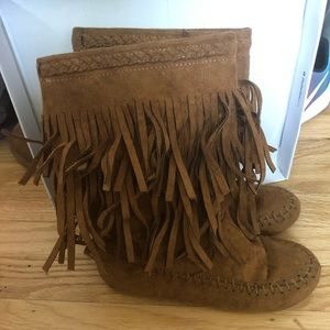 Rampage Girls Fringe Boot